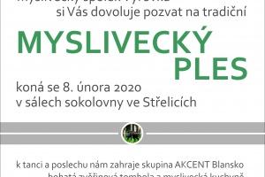 Myslivecký ples, Střelice, 8. 2. 2020